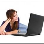 Girl Viewing Webinar