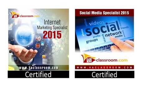 VA Classroom Certifications 2016
